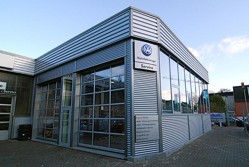 Die Werkstatt von Autohaus Kronshagen