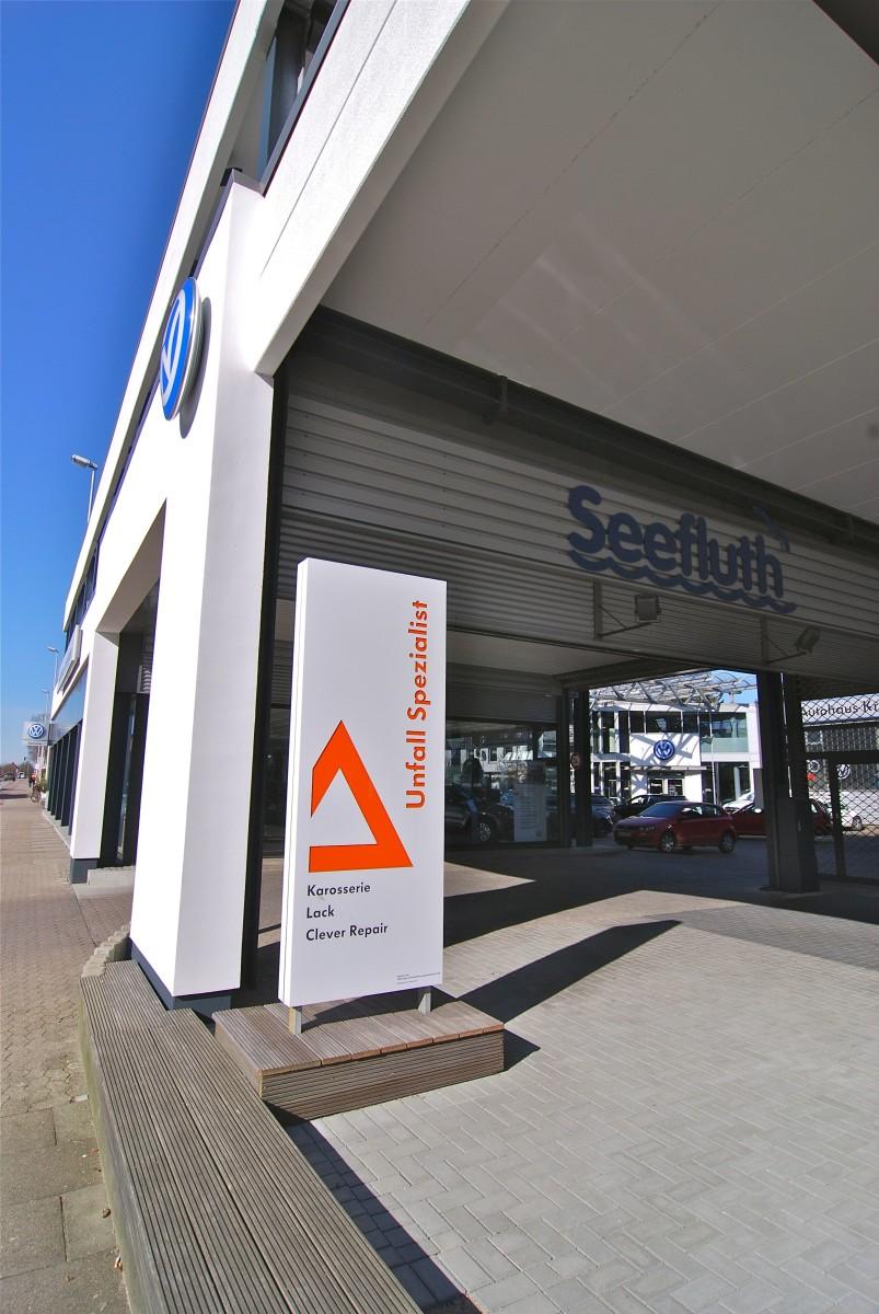 Autohaus Seefluth ist zertifizierter Unfall-Spezialist